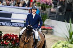Mathy Francois Jr, BEL, Uno de La Roque<br /> LONGINES FEI World Cup™ Finals Gothenburg 2019<br /> © Hippo Foto - Dirk Caremans<br /> 07/04/2019