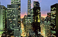New York. elevated view. Midtown Manhattan skyline, New York  Usa /   Midtown mahattan   New York  USa