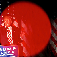 PHILADELPHIA, PA - SEPTEMBER 7:  Republican Presidential nominee Donald J. Trump delivers a speech at The Union League of Philadelphia on September 7, 2016 in Philadelphia, Pennsylvania.  Recent national polls show the presidential race is tightening with two months until the election. (Photo by Mark Makela/Getty Images)