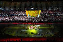Vista geral da Festa Gigante - Reinauguração do Beira-Rio, neste sábado 05 de abril de 2014. O estádio Beira Rio receberá os jogos da Copa do Mundo de Futebol 2014. FOTO: Emmanuel Denaui/ Agência Preview