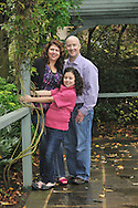 outdoor family portrait at a park by Kristina Cilia Photography of Vacaville