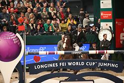 El Zoghby Karim, (EGY), Amelia<br /> Longines FEI World Cup<br /> CSIO Leipzig 2016<br /> © Hippo Foto - Stefan Lafrentz