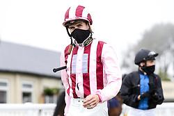 Jockey Hector Crouch - Mandatory by-line: Robbie Stephenson/JMP - 19/08/2020 - HORSE RACING - Bath Racecourse - Bath, England - Bath Races
