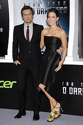 "Photo by: Michael Germana/starmaxinc.com<br /> ©2013<br /> <br /> 5/14/13<br /> Kate Beckinsale and Len Wiseman at the premiere of ""Star Trek: Into Darkness"".<br /> (Los Angeles, CA)"