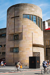 Exterior of National Museum of Scotland In Edinburgh, Scotland, united Kingdom