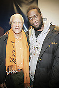 l to r: Gary Bartz and Robert Glasper at The OkayPlayer Hoiliday Jammy presented by OkayPlayer and Frank Magazine held at BB Kings on December 18, 2008 in New York City..The Legendary Roots Crew gives back to fans with All-Star line-up of Special Guests to celebrate upcoming Holiday Season.