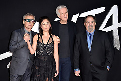 Christoph Waltz, Rosa Salazar, James Cameron, and Jon Landau attend the Premiere Of 20th Century Fox's 'Alita: Battle Angel' at Westwood Regency Theater on February 05, 2019 in Los Angeles, CA, USA. Photo by Lionel Hahn/ABACAPRESS.COM