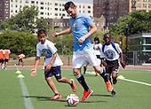 David Villa in The Bronx for NYCFC