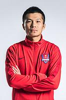 **EXCLUSIVE**Portrait of Chinese soccer player Yang Ke of Chongqing Dangdai Lifan F.C. SWM Team for the 2018 Chinese Football Association Super League, in Chongqing, China, 27 February 2018.