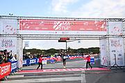 Foto Massimo Paolone/LaPresse <br /> 17 ottobre 2021 Roma, Italia <br /> sport <br /> Roma Ostia Half Marathon 2021<br /> Nella foto: il vincitore della gara Adisa Sola<br /> <br /> Photo Massimo Paolone/LaPresse <br /> October 17, 2021 Rome, Italy <br /> sport <br /> Roma Ostia Half Marathon 2021 <br /> In the pic: the winner of the race Adisa Sola