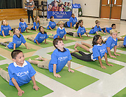 HISD launches the Sonima Foundation Health and Wellness program at Oak Forest Elementary School on 09/23/14. ( photo by Kim Christensen)