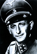 Otto Adolf Eichmann (1906?1962) Nazi and SS-Obersturmbannführer (Lieutenant-Colonel). He was charged by Reinhard Heydrich with the task of facilitating and managing the logistics of the mass deportation of Jews to ghettos and extermination camps in Nazi-o