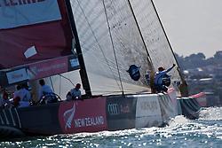 Artemis practice against Azzurra. Auckland, New Zealand, March 8th 2010. Louis Vuitton Trophy  Auckland (8-21 March 2010) © Sander van der Borch / Artemis