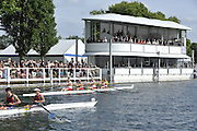 Henley, GREAT BRITAIN. Wyfold Challenge Cup. Tideways Scullers School. New Floating Grandstand  17:28:07, Wednesday  30/06/2010 [Mandatory Credit: Peter Spurrier / Intersport-images] Rowing Courses, Henley Reach, Henley, ENGLAND . HRR.