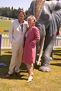 Earl and Countess of March and Kinrara. Veuve Clicquot Gold Cup Final at Cowdray Park. Midhurst. 17 July 2005. ONE TIME USE ONLY - DO NOT ARCHIVE  © Copyright Photograph by Dafydd Jones 66 Stockwell Park Rd. London SW9 0DA Tel 020 7733 0108 www.dafjones.com