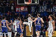 Tyler Stone<br /> Banco di Sardegna Dinamo Sassari - Happycasa Brindisi<br /> Quarti di finale<br /> LBA Legabasket Serie A Final 8 Coppa Italia 2019-2020<br /> Pesaro, 14/02/2020<br /> Foto L.Canu / Ciamillo-Castoria