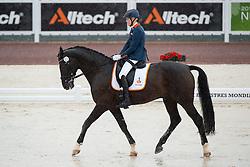 Nicole den Dulk, (NED), Wallace - Team Competition Grade Ib Para Dressage - Alltech FEI World Equestrian Games™ 2014 - Normandy, France.<br /> © Hippo Foto Team - Jon Stroud <br /> 25/06/14