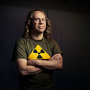 Nuclear scientist Janne Wallenius.<br /> Photo © Daniel Roos 2020