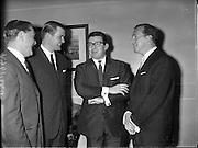 Men's Fashion Show at the Gresham Hotel..12.04.1961