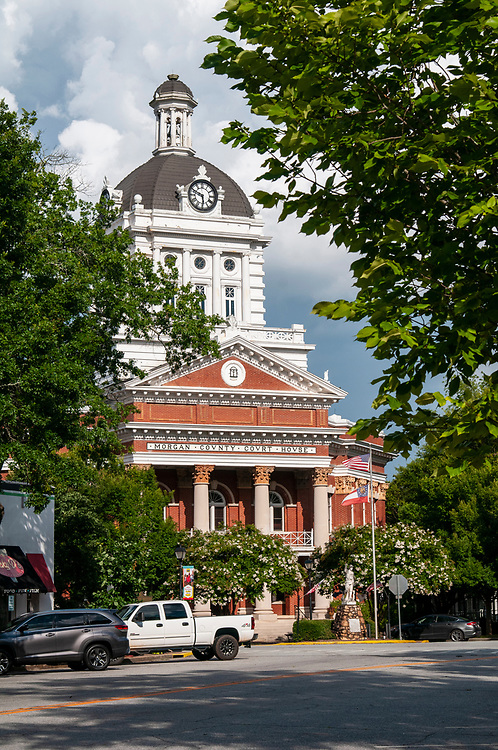The Morgan County Courthouse in Madison, Georgia on Friday, July 16, 2021. Copyright 2021 Jason Barnette