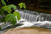 Wodospad w Krakonowskim Parku Narodowym