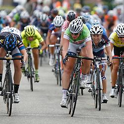 Boels Rental Ladiestour 2013 Zaltbommel-Veen Chloe Hosking (Hitec) wins 5th stage in Veen
