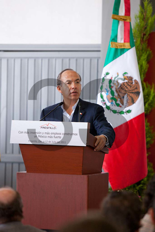 The opening ceremony at the Saucito mine, part of Fresnillo plc Group. Zacatecas, Mexico