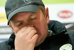 Head Coach Matjaz Kek during press conference of Slovenia National football team at  Hyde Park High School Stadium on June 16, 2010 in Johannesburg, South Africa.  (Photo by Vid Ponikvar / Sportida)