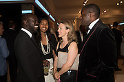 DAVID ADJAYE; ASHLEY SHAW-SCOTT; NICOLA GREEN; DAVID LAMMY, The Neo Romantic Art Gala in aid of the NSPCC. Masterpiece. Chelsea. London.  30 June 2015