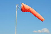 Windsock in an airfield