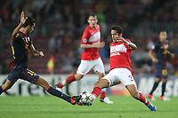 FOOTBALL - UEFA CHAMPIONS LEAGUE 2012/2013 - GROUP STAGE - GROUP G - FC BARCELONA v SPARTAK MOSCOW - 19/09/2012 - PHOTO MANUEL BLONDEAU / AOP PRESS / DPPI - ROMULO