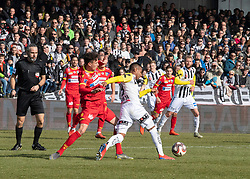 16.02.2019, TGW Arena, Pasching, AUT, OeFB Uniqa Cup, LASK vs SKN St. Pölten, Viertelfinale, im Bild Joao Victor Santos Sa (LASK) // during the quaterfinal match of the ÖFB Uniqa Cup between LASK and SKN St. Pölten at the TGW Arena in Pasching, Austria on 2019/02/16. EXPA Pictures © 2019, PhotoCredit: EXPA/ Reinhard Eisenbauer