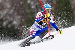 MISSILLIER Steve of France competes during the 1st Run of 10th Men's Slalom - Pokal Vitranc 2013 of FIS Alpine Ski World Cup 2012/2013, on March 10, 2013 in Vitranc, Kranjska Gora, Slovenia. (Photo By Vid Ponikvar / Sportida.com)