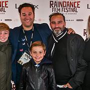 Director Richard Raymond family and friends attend 'Souls of Totality' film at Raindance Film Festival 2018, London, UK. 30 September 2018.