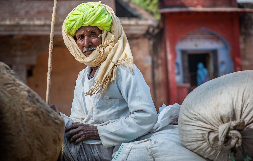 Rajasthani man with turban