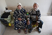 Refugees after 2007 clashes in Nahr El Bared Camp, North Lebanon