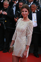 Alexandra Rosenfeld at the The Homesman gala screening red carpet at the 67th Cannes Film Festival France. Sunday 18th May 2014 in Cannes Film Festival, France.