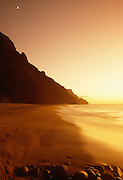 Kalalau Beach, Napali Coast, Kauai, Hawaii.