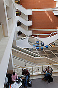 British Library interior London
