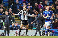 Notts County midfielder Jorge Grant (10) during the EFL Sky Bet League 2 match between Chesterfield and Notts County at the b2net stadium, Chesterfield, England on 25 March 2018. Picture by Jon Hobley.