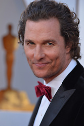 Matthew McConaughey arrives to the 90th annual Academy Awards (Oscars) held at the Dolby Theatre in Los Angeles, CA, USA, on March 4, 2018. Photo by Lionel Hahn/ABACAPRESS.COM