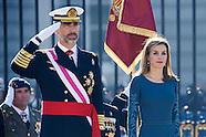 010615 Spanish Royals Celebrate New Year's Military Parade 2015