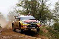 MOTORSPORT - WRC 2010 - RALLY OF TURKEY - <br /> ISTANBUL (TUR) - 15 TO 18/04/2010 - PHOTO : ALEXANDRE GUILLAUMOT / DPPI <br /> PETTER SOLBERG (NOR) / PHIL MILLS (GBR) - PETTER SOLBERG WRT - CITROEN C4 WRC - ACTION