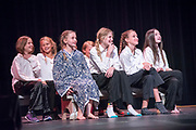 """Telluride Academy's Mudd Butts Mountain Theatre Troupe's  dress rehearsal of """"Bright are the Stars-Cosmic Missions & Inquisitions"""" in Telluride, Colorado on August 1, 2018.  (Photo by Rohanna Mertens)"""