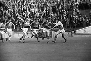 26/05/1968<br /> 05/26/1968<br /> 26 May 1968<br /> National Hurling League Final: Kerry v Antrim at Croke Park, Dublin.<br /> Near the Kerry goalmouth.