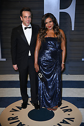 BJ Kovak and Mindy Kaling attending the 2018 Vanity Fair Oscar Party hosted by Radhika Jones at Wallis Annenberg Center for the Performing Arts on March 4, 2018 in Beverly Hills, Los angeles, CA, USA. Photo by DN Photography/ABACAPRESS.COM