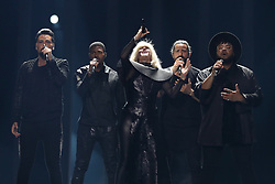 May 7, 2018 - Lisbon, Portugal - EQUINOX of Bulgaria performs during the Dress Rehearsal of the first Semi-Final of the 2018 Eurovision Song Contest, at the Altice Arena in Lisbon, Portugal on May 7, 2018. (Credit Image: © Pedro Fiuza/NurPhoto via ZUMA Press)