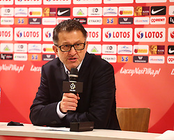 November 13, 2017 - Gdansk, Poland - Mexican coach Juan Carlos Osorio after the international friendly soccer match between Poland and Mexico at the Energa Stadium in Gdansk, Poland on 13 November 2017  (Credit Image: © Mateusz Wlodarczyk/NurPhoto via ZUMA Press)