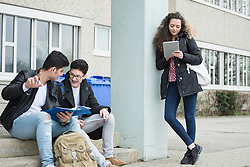 University students studying in campus School, Bavaria, Germany