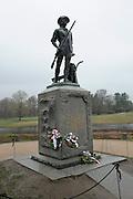 North Bridge memorial site, Concord, Massachusetts